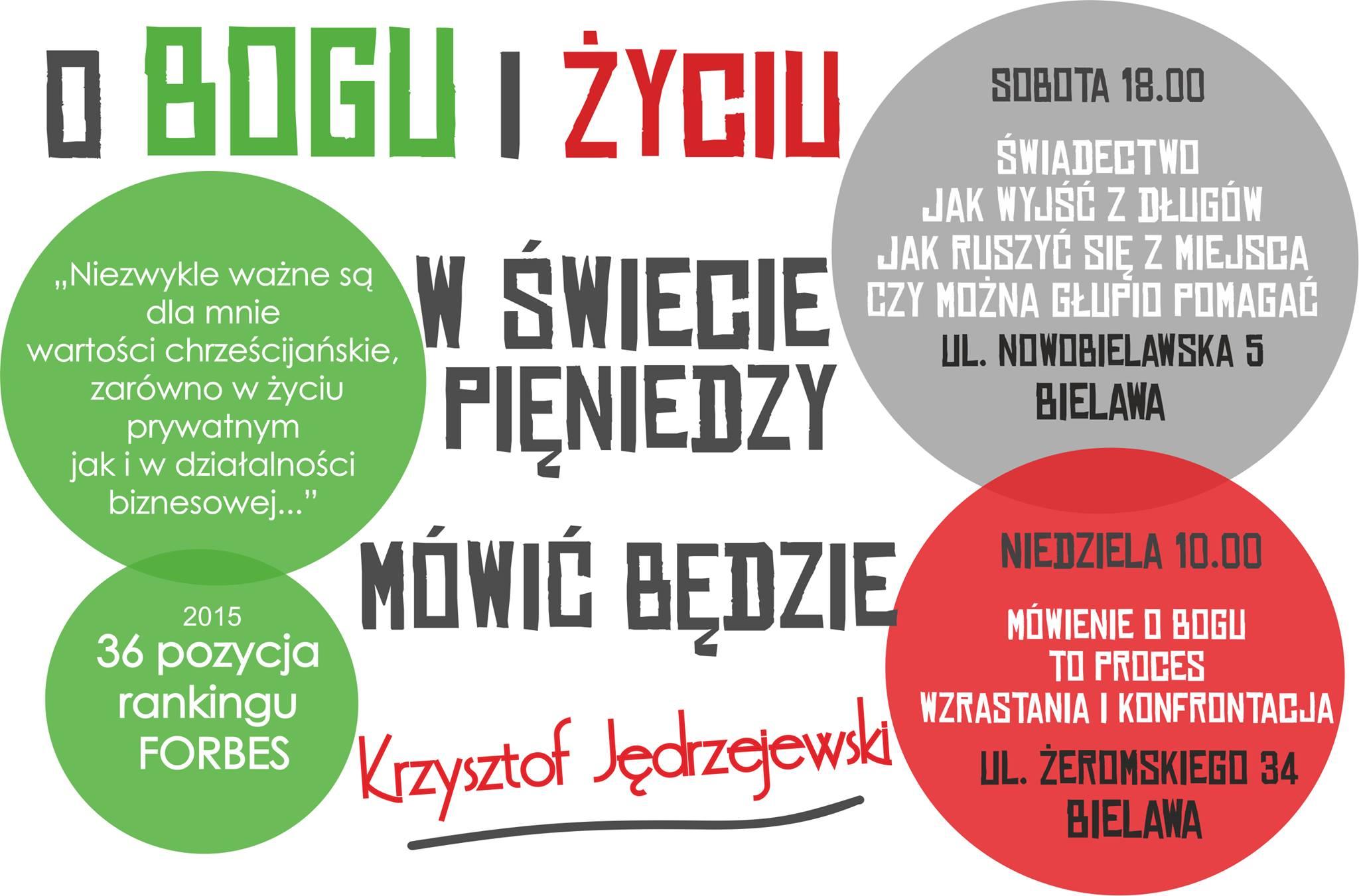 Spotkanie z Krzysztofem Jędrzejewskim