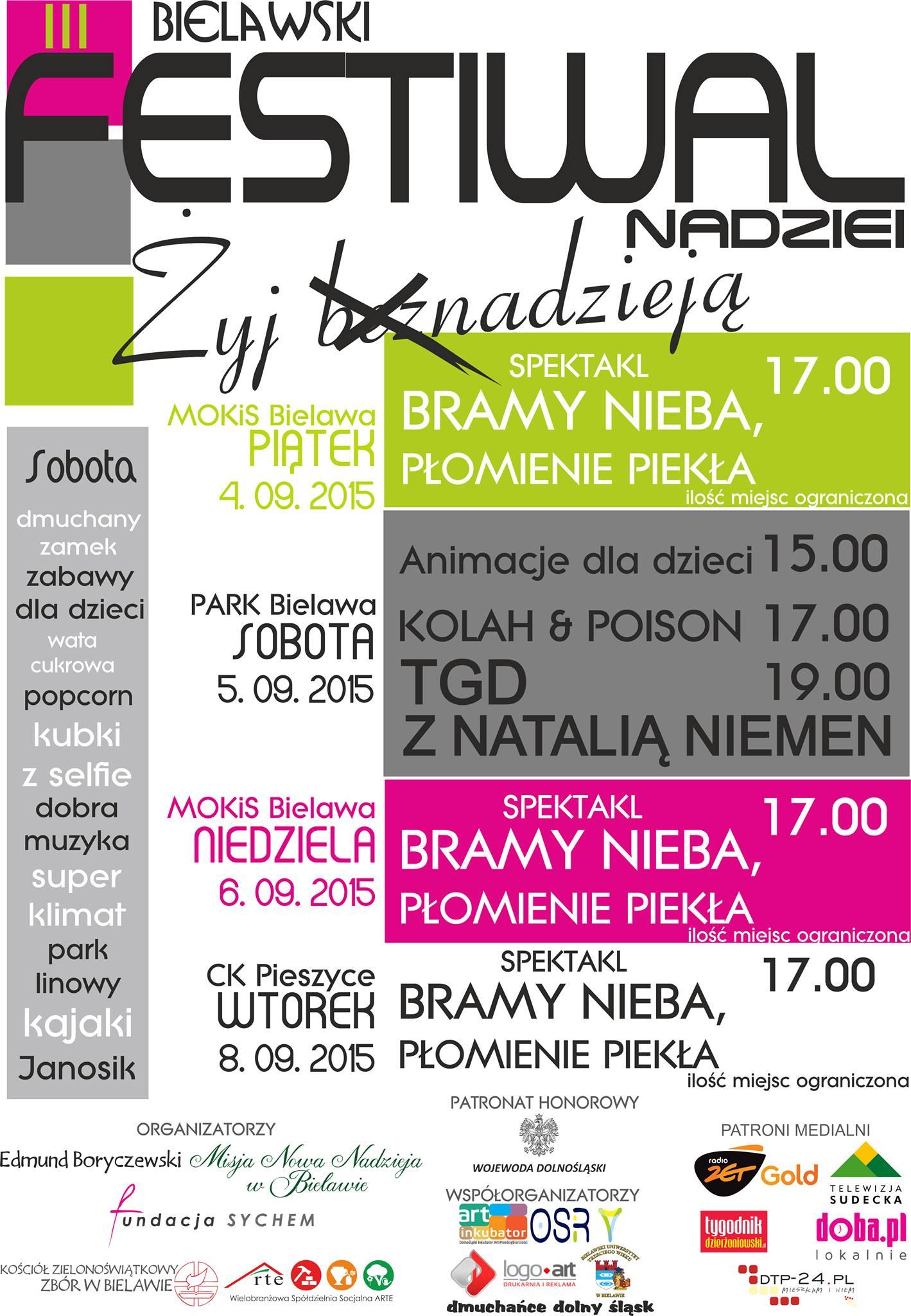 III Bielawski Festiwal Nadziei